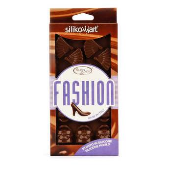 """Silikomart - Moule spécial chocolat """"articles de mode"""""""