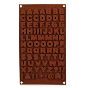 Silikomart - Letters and Symbols Silicone Mold
