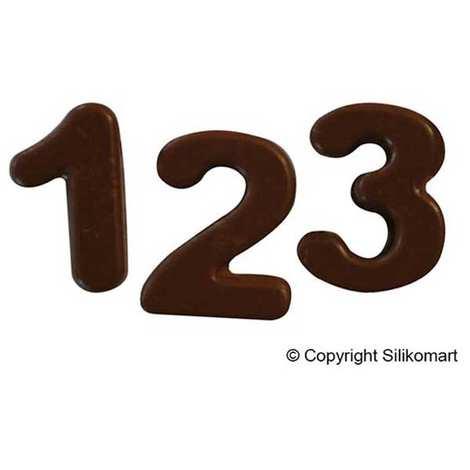 Silikomart - Silicone Mold Figures and Numbers