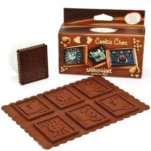 Silikomart - Kit moule en silicone pour cookie monsters
