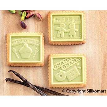 Silikomart - Cookie Gnam Gnam Silicon Mold