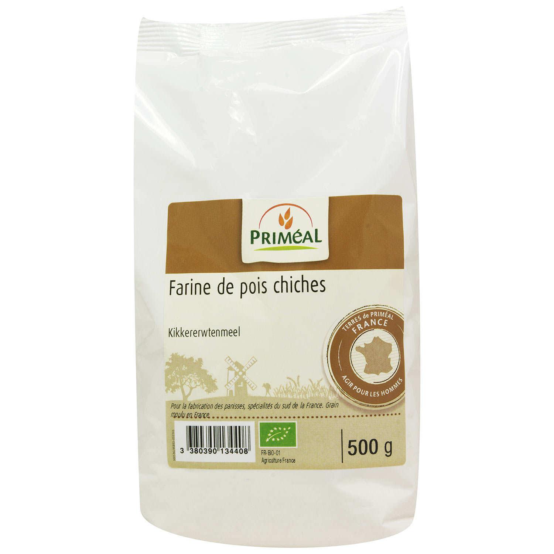 Organic chick-pea flour