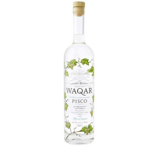 Pisco chilien Waqar - 40%