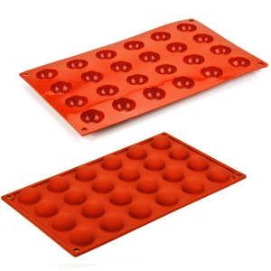 Silikomart - Moule demi-sphères en silicone