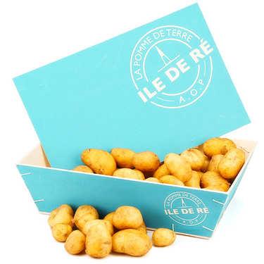 Bourriche de pommes de terre primeur AOP de l'Ile de Ré