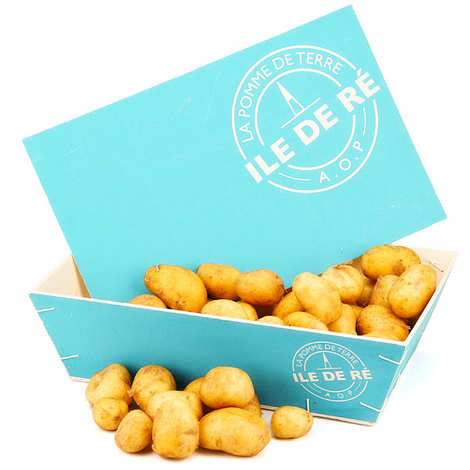 Coopérative agricole de l'île de Ré - Bourriche de pommes de terre primeur AOP de l'Ile de Ré