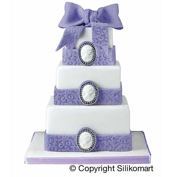 Moules pour gâteau à étage carré - Wonder cake