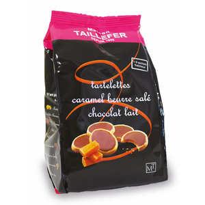 Maison Taillefer - Tartelettes caramel beurre salé et chocolat au lait