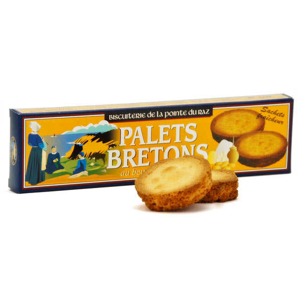 "French biscuits - ""Palets bretons"""