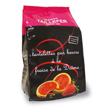 Maison Taillefer - Tartelettes aux fraises de la Drôme