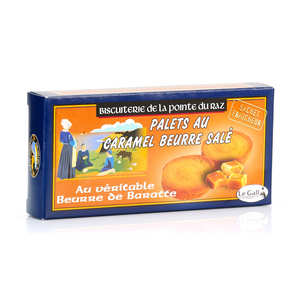 Biscuiterie de la pointe du raz - Chocolate and toffee biscuits