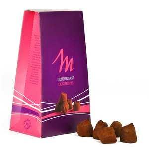 Chocolat Mathez - Truffes fantaisie praliné