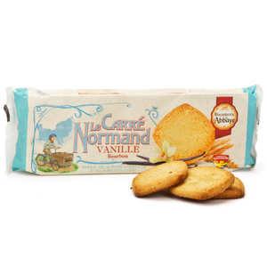 Biscuiterie de l'Abbaye - Carrés Normand Vanille