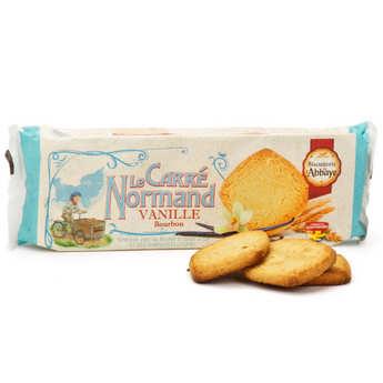 Biscuiterie de l'Abbaye - Normand Vanilla Carrés