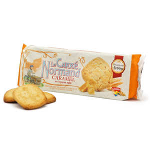Biscuiterie de l'Abbaye - Normand Salted Butter Caramel Carrés