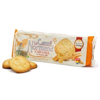 Biscuiterie de l'Abbaye - Carrés Normands Caramel au beurre salé