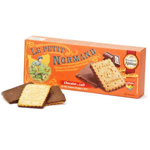 Biscuiterie de l'Abbaye - Biscuit covered with milk chocolate from Normandie