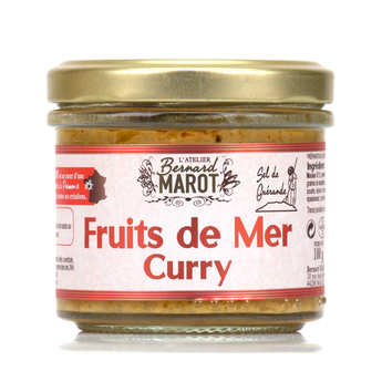 Bernard Marot - Moules crème et curry à tartiner