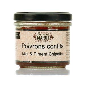 Bernard Marot - Poivrons confits au miel et au piment à tartiner