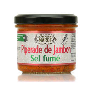 Bernard Marot - Piperade Ham with Smoked Salt Spread