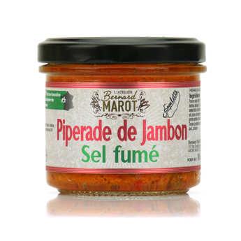 Bernard Marot - Piperade de jambon au sel fumé à tartiner