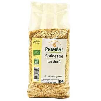 Priméal - Graines de lin dorées bio