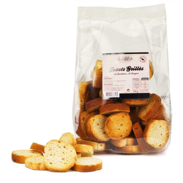 Mini roasted toasts
