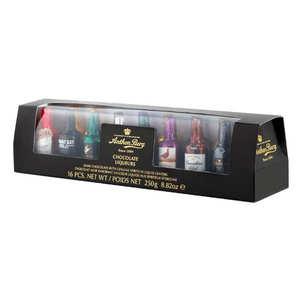 Anthon Berg - Coffret de chocolat noir à la liqueur - 16 variétés