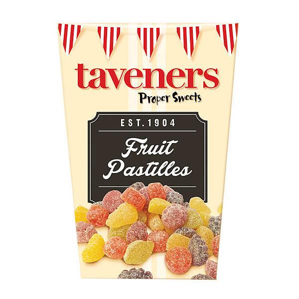 Bonbons anglais Fruit Pastilles Taveners