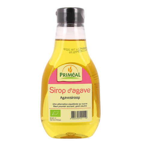 Priméal - Organic agave syrup bottle