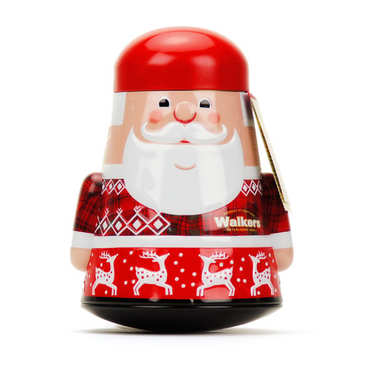 Walkers Santa Claus Shortbread Tin