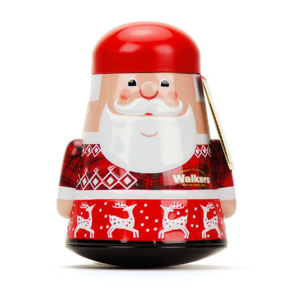 Walkers Santa Claus Shortbread Tin