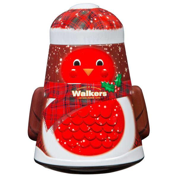 Walkers Snowman Shortbread Tin