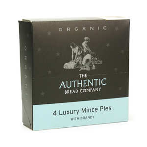 The Authentic Bread Company - Organic Mince Pies - Authentic Bread Company