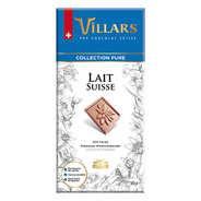 Villars maître chocolatier - Chocolat suisse au lait Villars