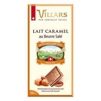 Villars maître chocolatier - Chocolat au lait éclats de Caramel Villars