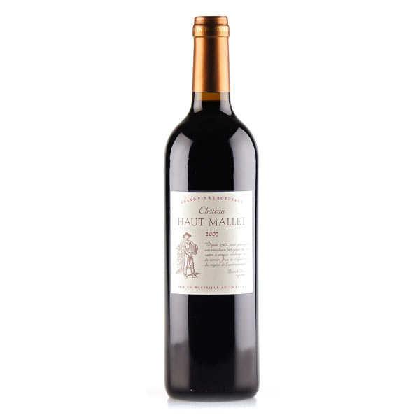Château haut mallet - aoc bordeaux rouge bio - 2015 - bouteille 75cl