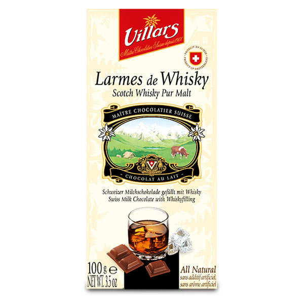 Milk Chocolate with Tears of Malt Whisky