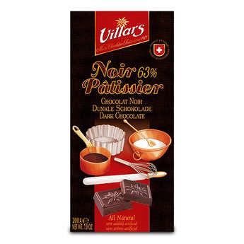 Villars maître chocolatier - Dark chocolate to cook