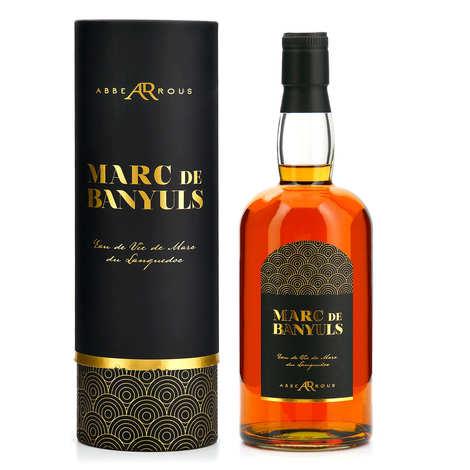 La cave Abbé Rous - French Brandy Marc de Banyuls - 40%