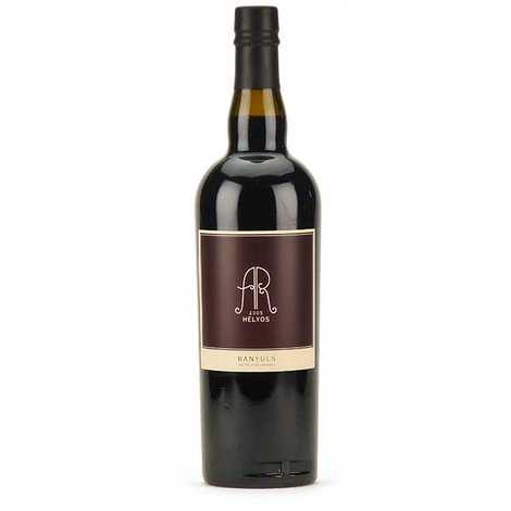 La cave Abbé Rous - Helyos - Banyuls muté sur grains - Vin rouge