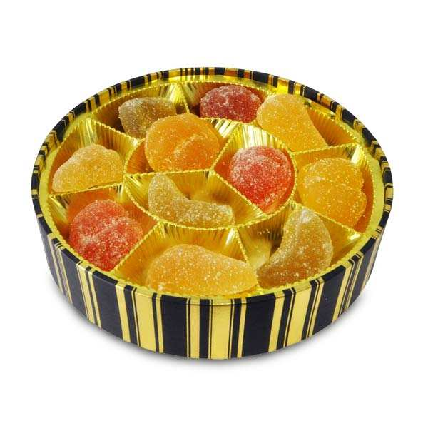 Ronde de pâtes de fruits