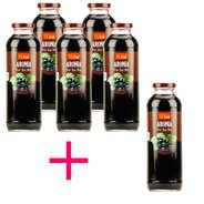 Vitabio - Pur jus d'aronia bio - lot de 5 + 1 offert