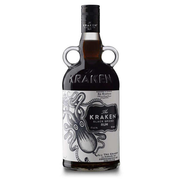 Kraken black spiced rum - 40%
