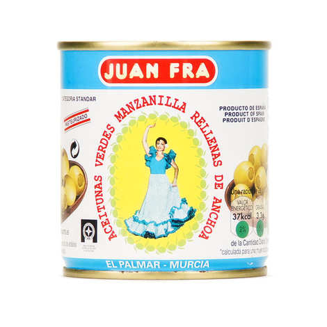 Juan Fra - Olives stuffed with anchovies
