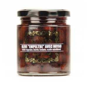El Tato - Olives empeltre noires mûres avec noyau