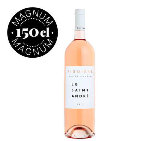 Figuière - Famille Combard - Le Saint André vin Rosé Magnum