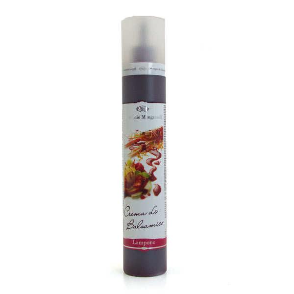 Crème de jus de framboise vinaigré - Réduction Mengazzoli