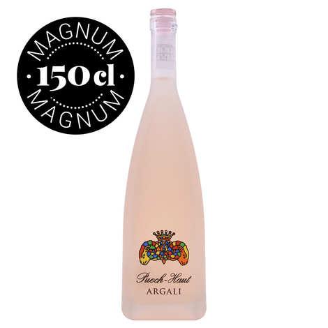Château Puech - Haut - Vin Rosé Argali (Prestige) Puech Haut - Magnum - 13%
