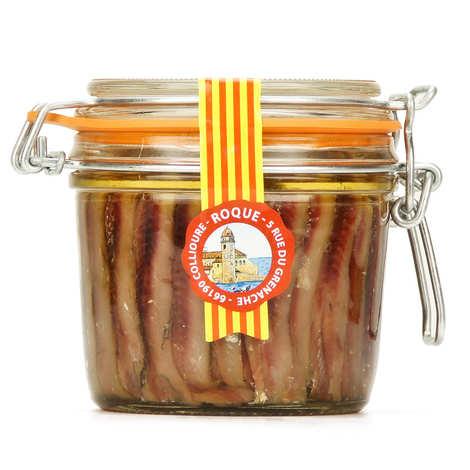 Roque - Filets d'anchois à l'huile
